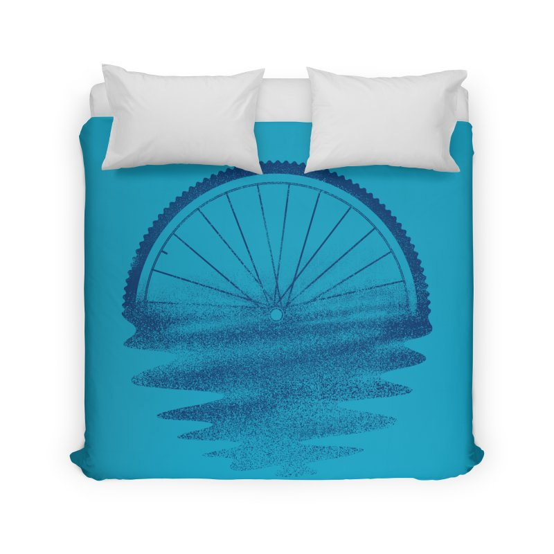 Blue Sunset Mystery Home Duvet by 38 Sunsets