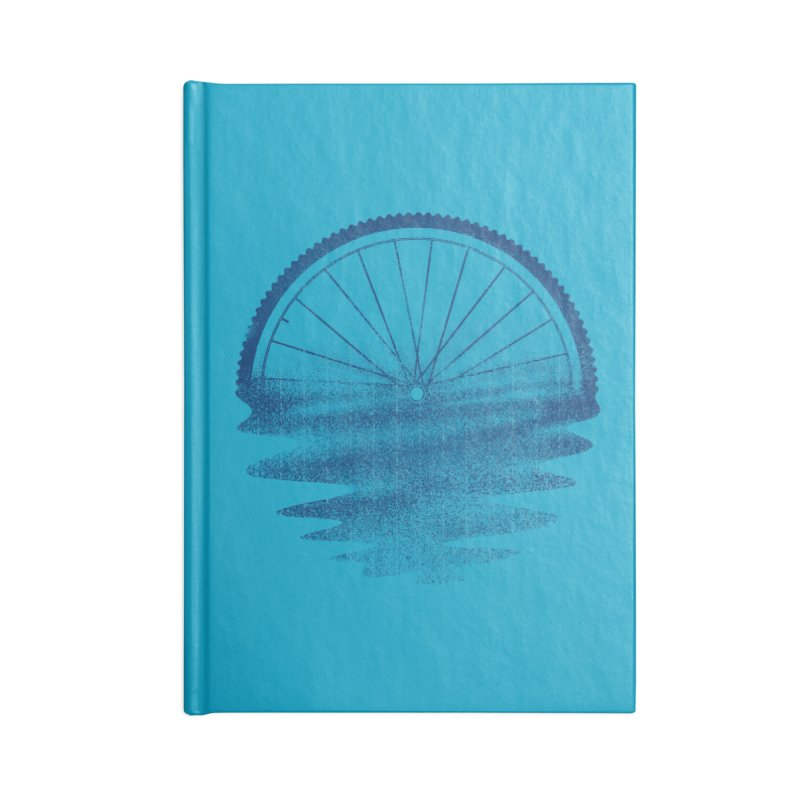 Blue Sunset Mystery Accessories Notebook by 38 Sunsets