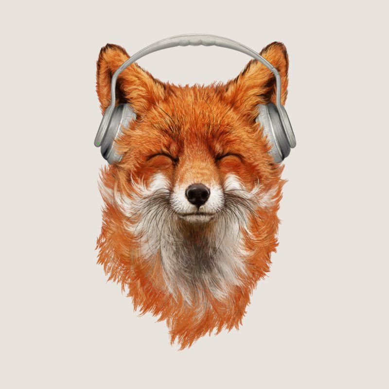 The Musical Fox Home Blanket by 38 Sunsets