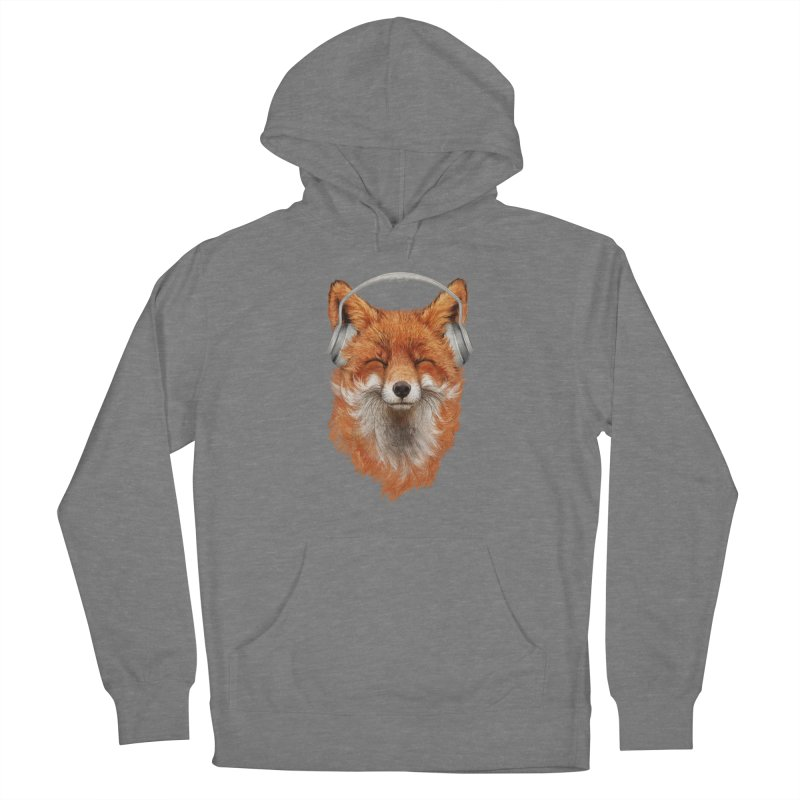 The Musical Fox Women's Pullover Hoody by 38 Sunsets