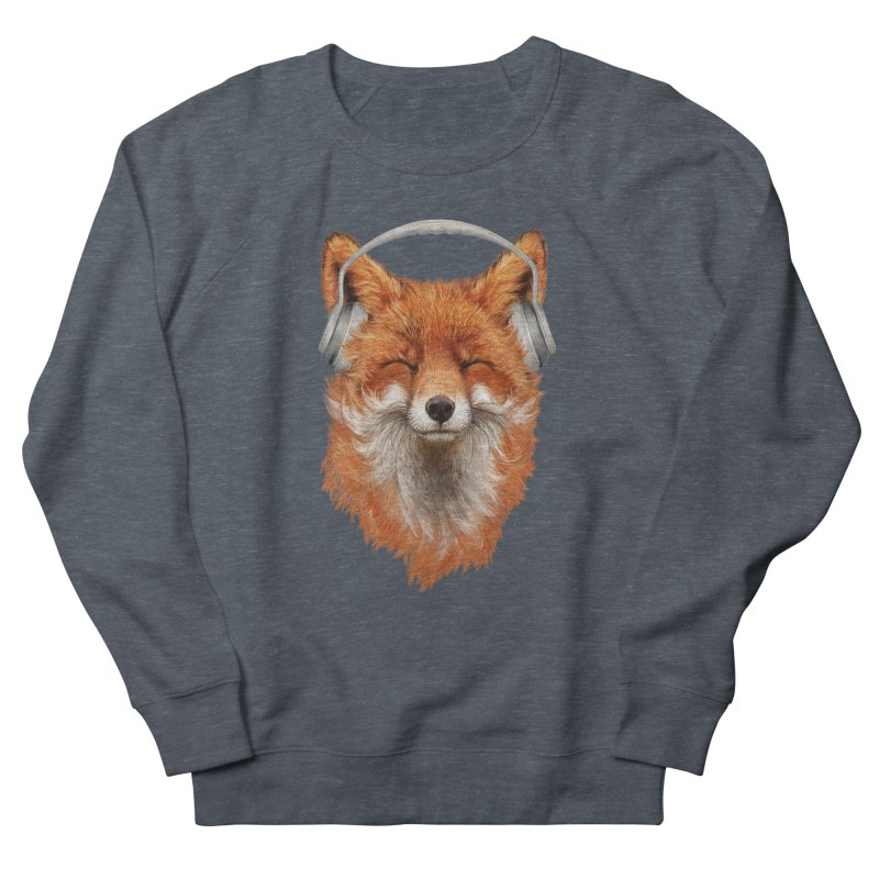 The Musical Fox Women's French Terry Sweatshirt by 38 Sunsets