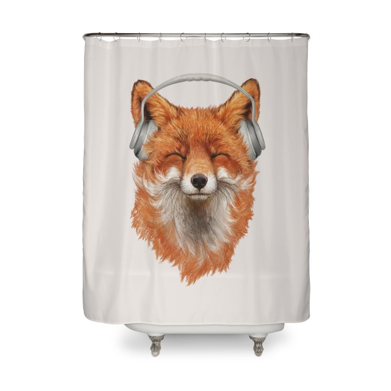 The Musical Fox Home Shower Curtain by 38 Sunsets