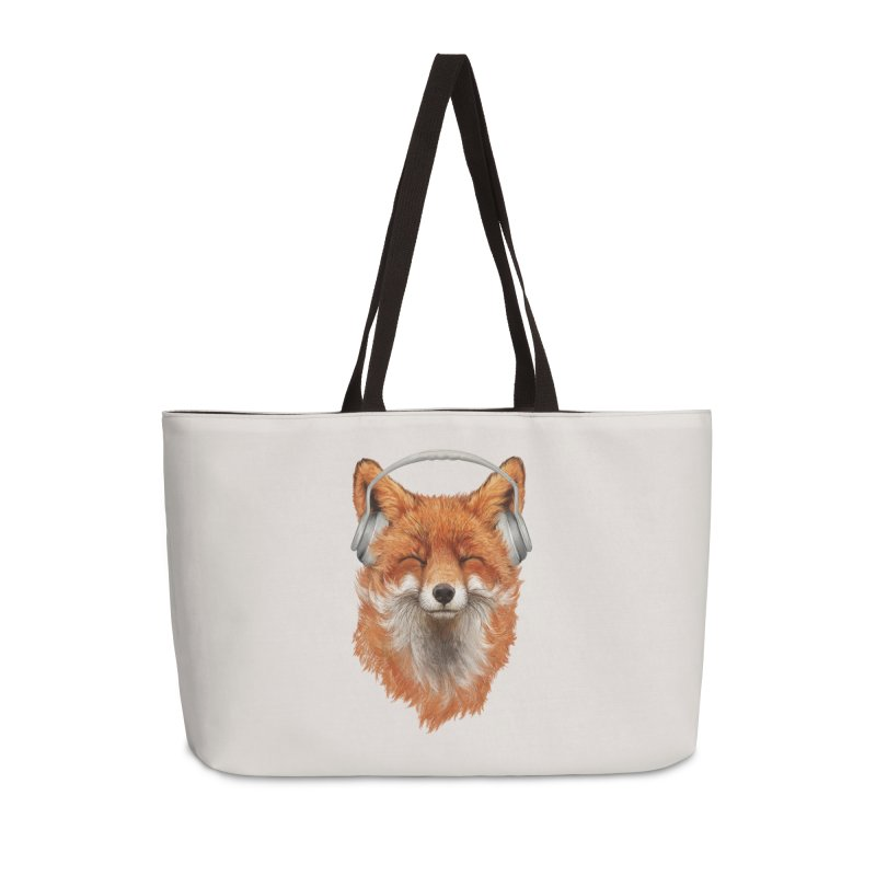 The Musical Fox Accessories Weekender Bag Bag by 38 Sunsets