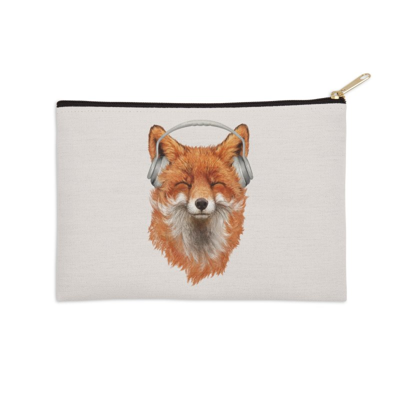 The Musical Fox Accessories Zip Pouch by 38 Sunsets