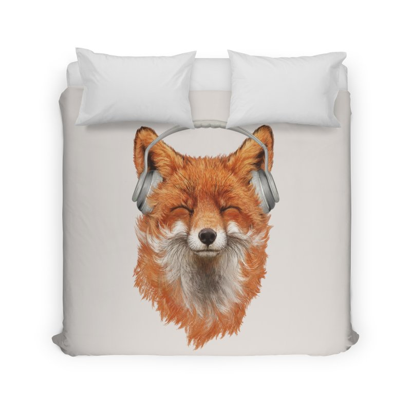 The Musical Fox Home Duvet by 38 Sunsets