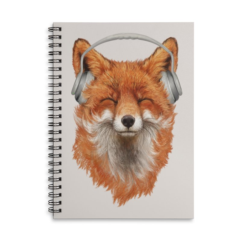 The Musical Fox Accessories Notebook by 38 Sunsets