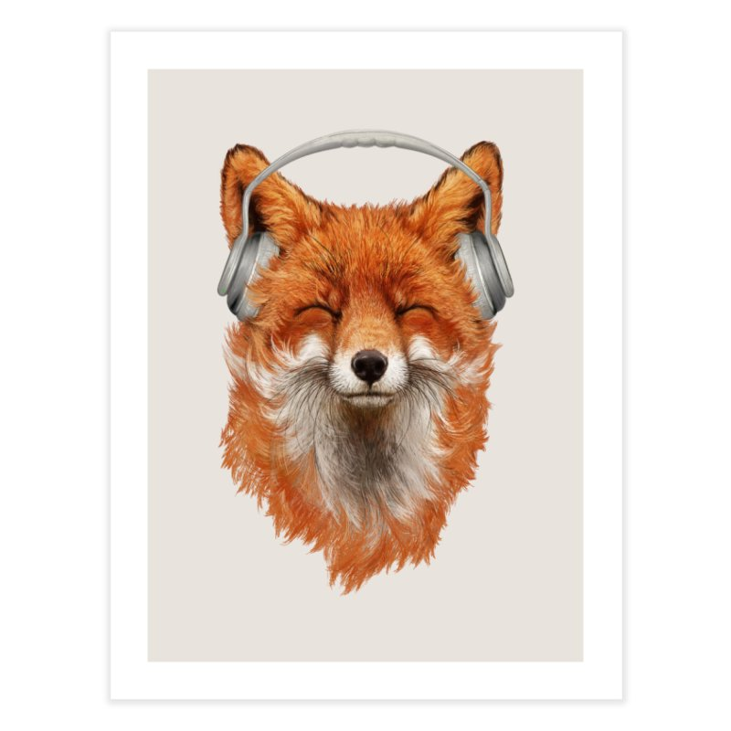 The Musical Fox Home Fine Art Print by 38 Sunsets