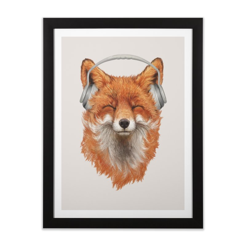 The Musical Fox Home Framed Fine Art Print by 38 Sunsets
