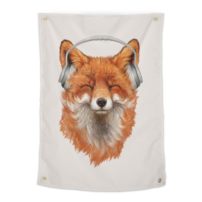 The Musical Fox Home Tapestry by 38 Sunsets