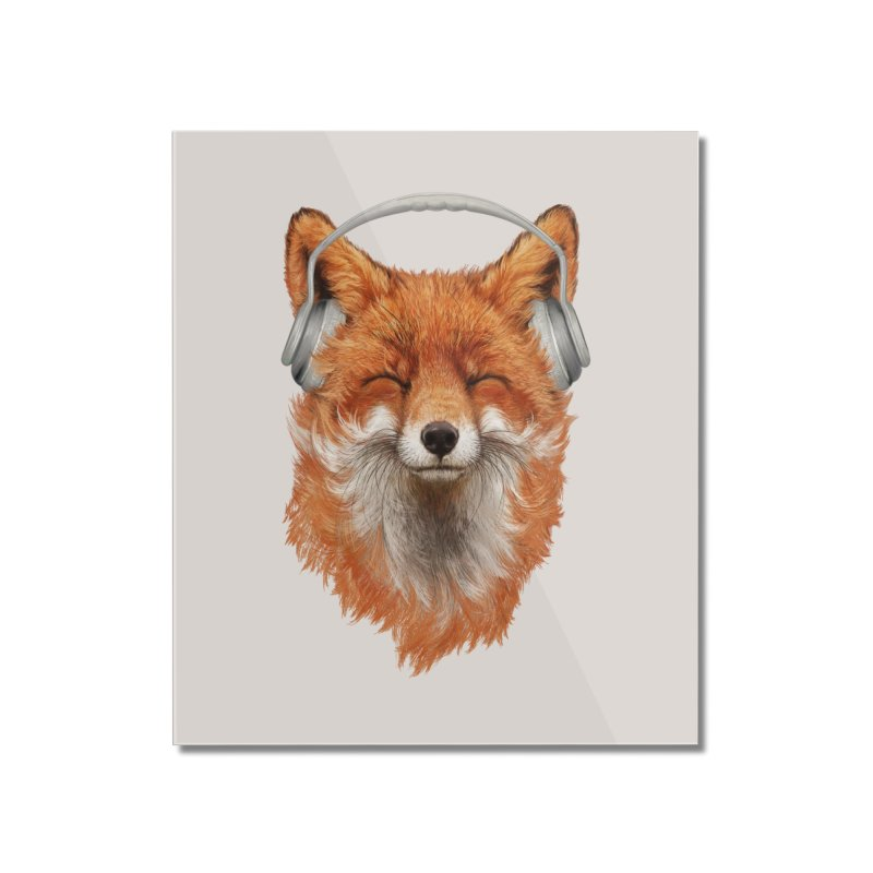 The Musical Fox Home Mounted Acrylic Print by 38 Sunsets