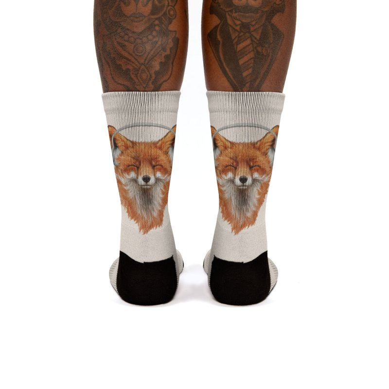 The Musical Fox Women's Socks by 38 Sunsets