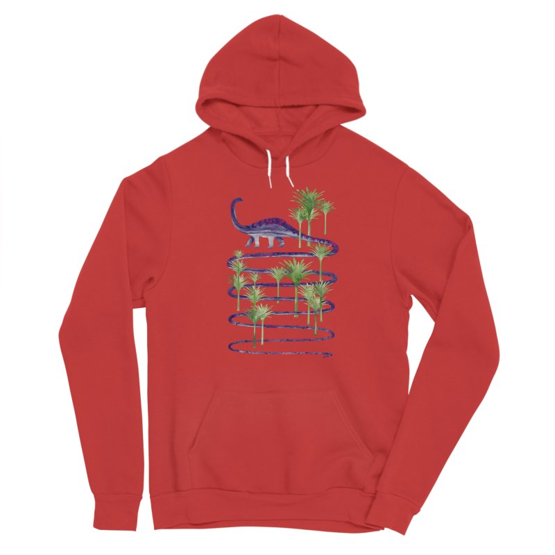Prehistoric Beauty Men's Pullover Hoody by 38 Sunsets