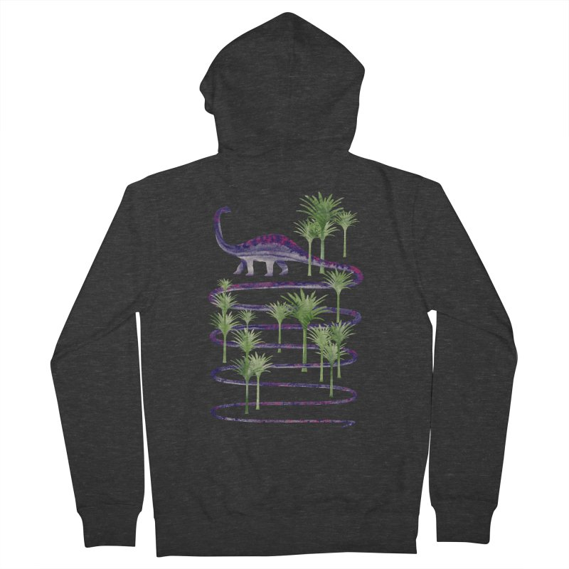 Prehistoric Beauty Women's French Terry Zip-Up Hoody by 38 Sunsets