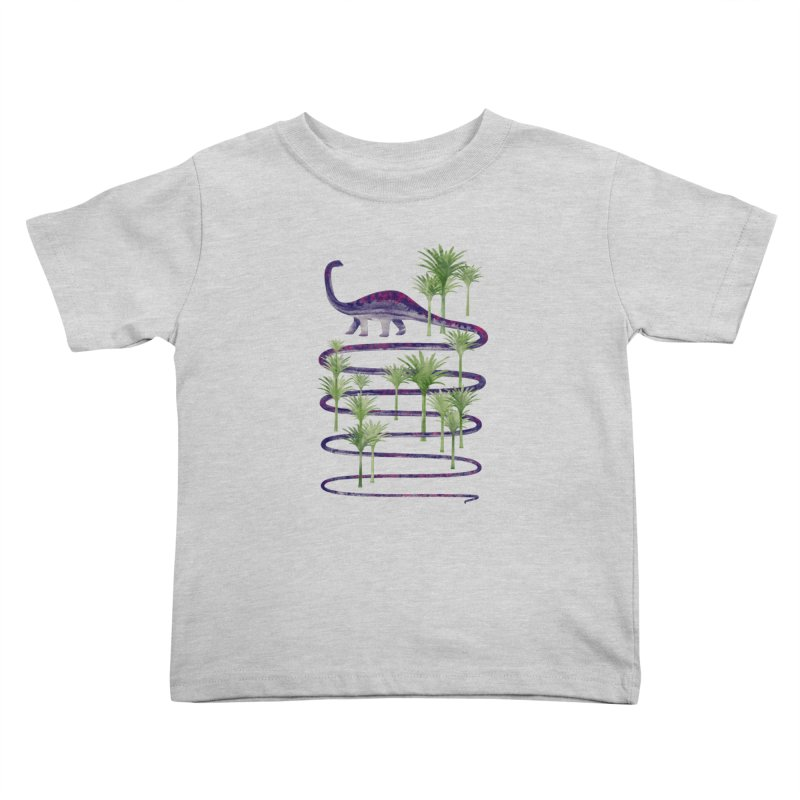 Prehistoric Beauty Kids Toddler T-Shirt by 38 Sunsets