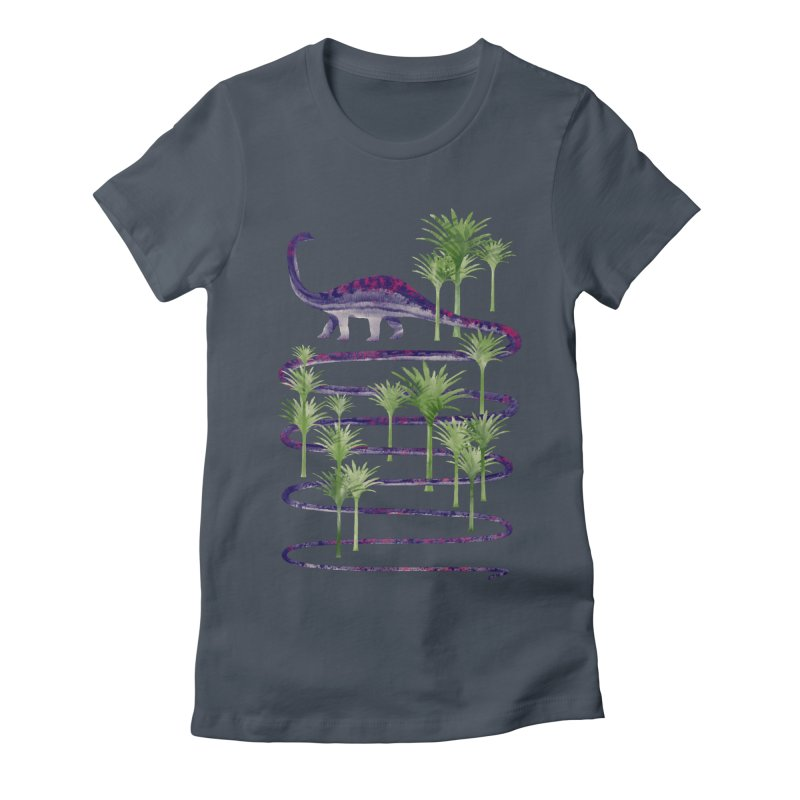 Prehistoric Beauty Women's T-Shirt by 38 Sunsets