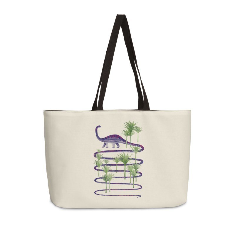 Prehistoric Beauty Accessories Weekender Bag Bag by 38 Sunsets
