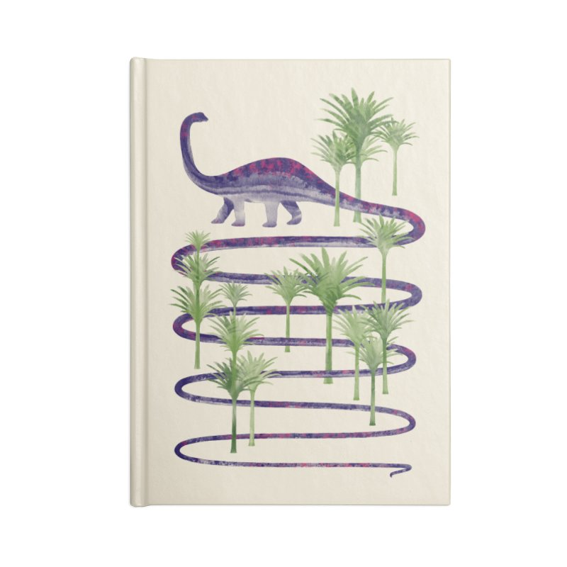 Prehistoric Beauty Accessories Lined Journal Notebook by 38 Sunsets