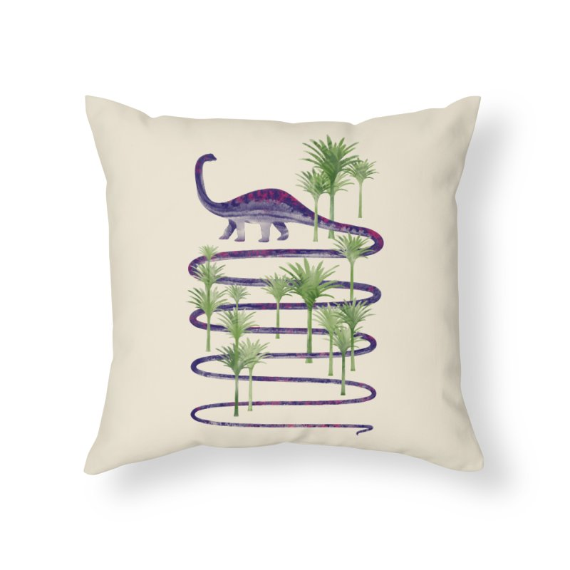 Prehistoric Beauty Home Throw Pillow by 38 Sunsets