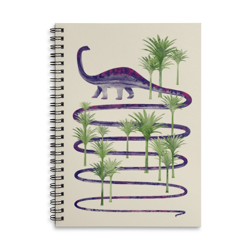 Prehistoric Beauty Accessories Notebook by 38 Sunsets