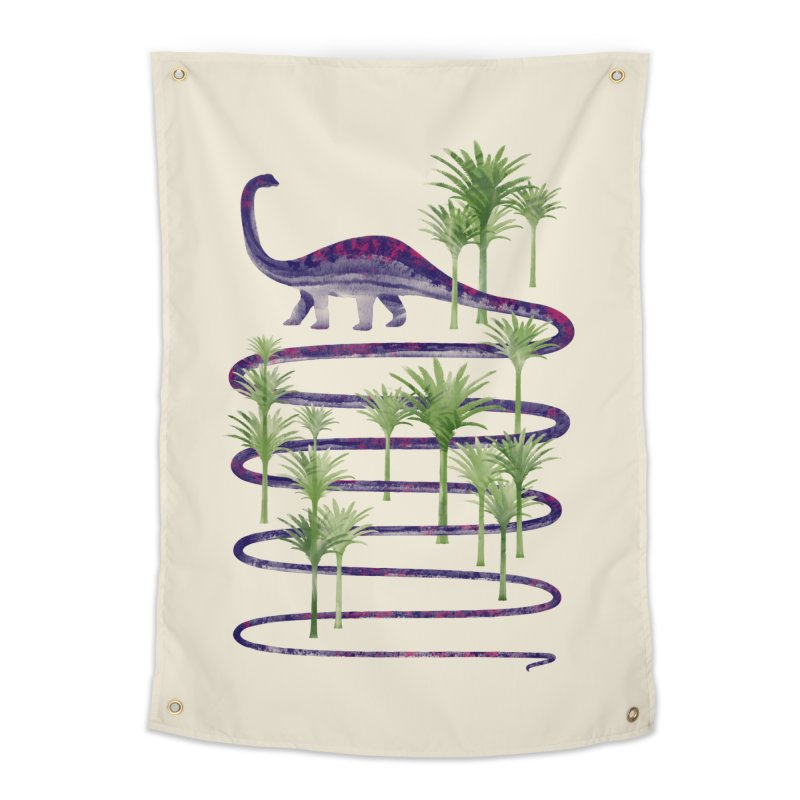 Prehistoric Beauty Home Tapestry by 38 Sunsets