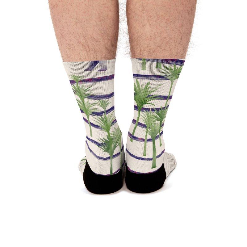 Prehistoric Beauty Men's Socks by 38 Sunsets