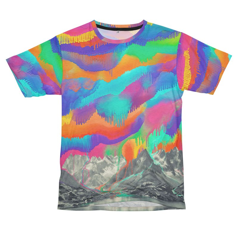 Skyfall, Melting Northern Lights Men's Cut & Sew by 38 Sunsets