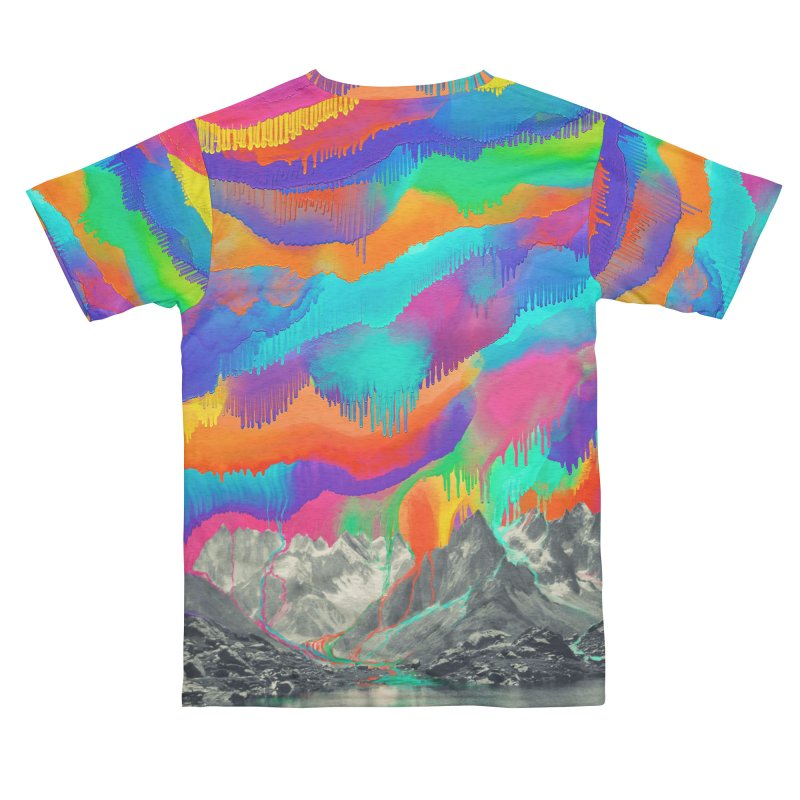 Skyfall, Melting Northern Lights Women's Cut & Sew by 38 Sunsets