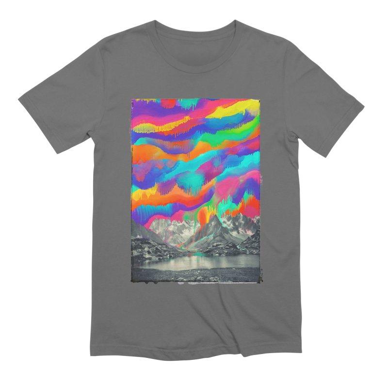 Skyfall, Melting Northern Lights Men's T-Shirt by 38 Sunsets