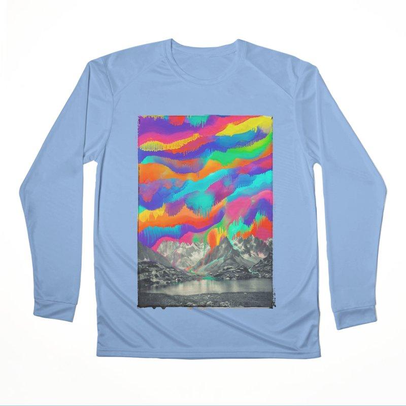 Skyfall, Melting Northern Lights Men's Longsleeve T-Shirt by 38 Sunsets
