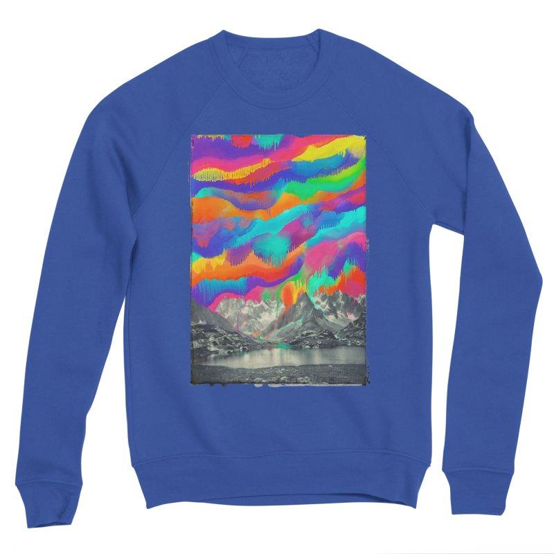 Skyfall, Melting Northern Lights Men's Sweatshirt by 38 Sunsets