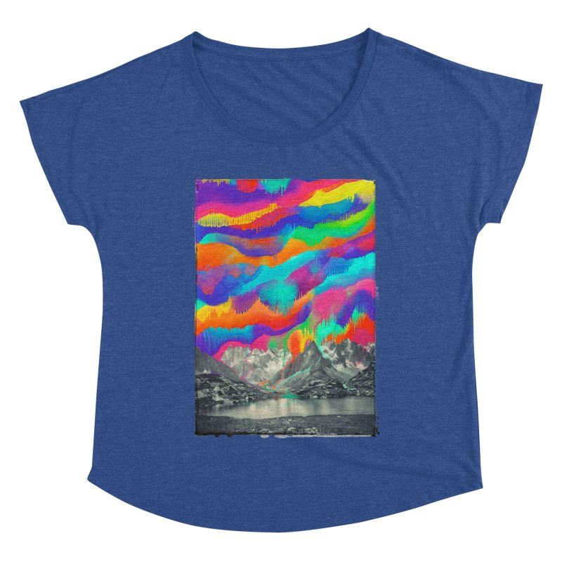 Skyfall, Melting Northern Lights Women's Dolman Scoop Neck by 38 Sunsets