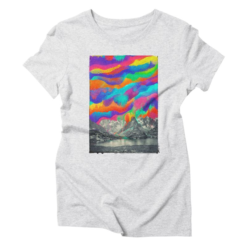 Skyfall, Melting Northern Lights Women's Triblend T-Shirt by 38 Sunsets