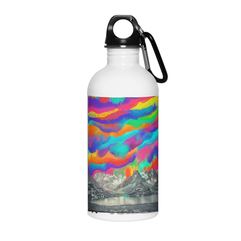 Skyfall, Melting Northern Lights Accessories Water Bottle by 38 Sunsets