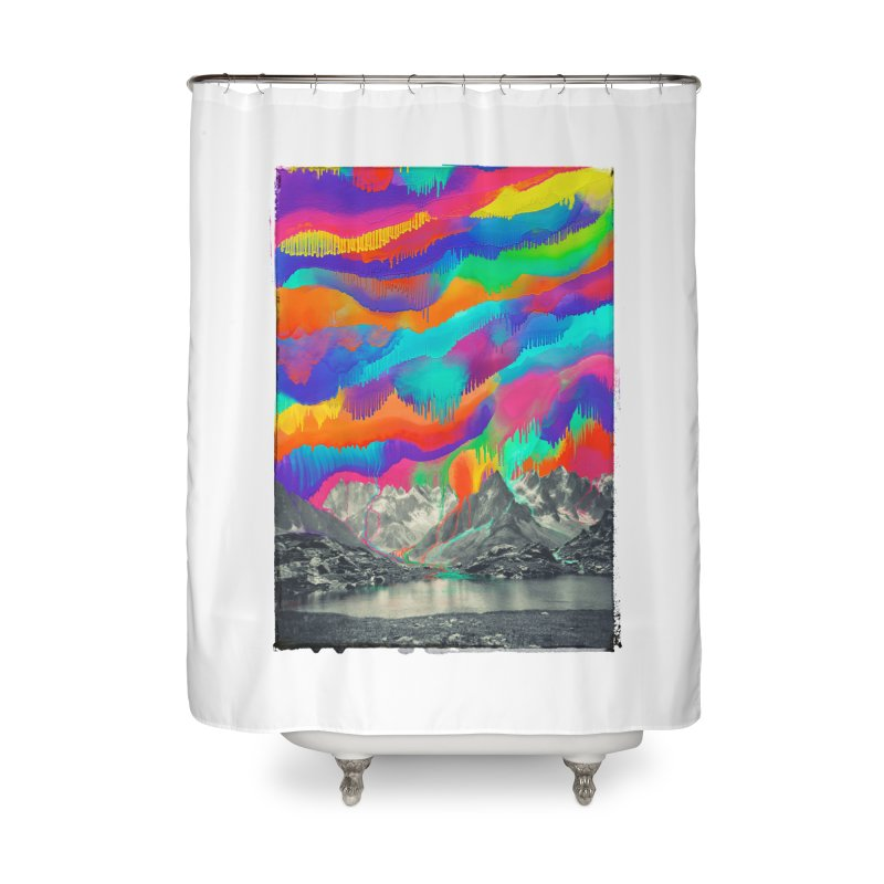 Skyfall, Melting Northern Lights Home Shower Curtain by 38 Sunsets
