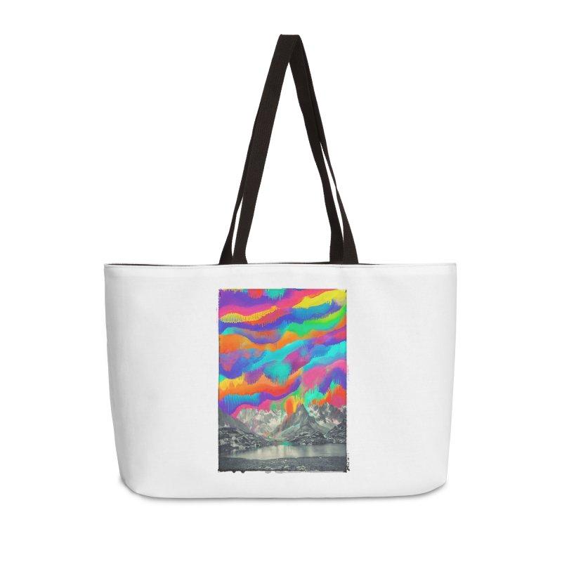 Skyfall, Melting Northern Lights Accessories Weekender Bag Bag by 38 Sunsets