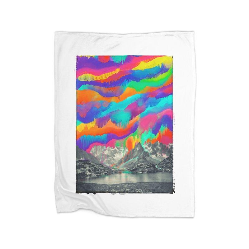 Skyfall, Melting Northern Lights Home Blanket by 38 Sunsets