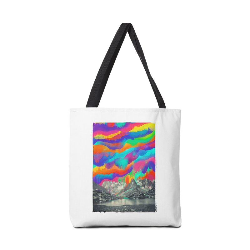 Skyfall, Melting Northern Lights Accessories Bag by 38 Sunsets