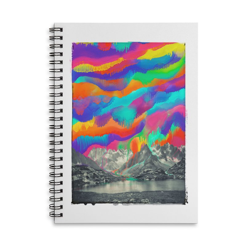 Skyfall, Melting Northern Lights Accessories Notebook by 38 Sunsets