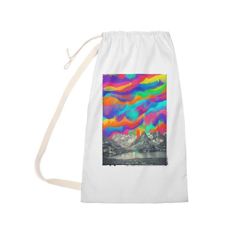 Skyfall, Melting Northern Lights Accessories Laundry Bag Bag by 38 Sunsets
