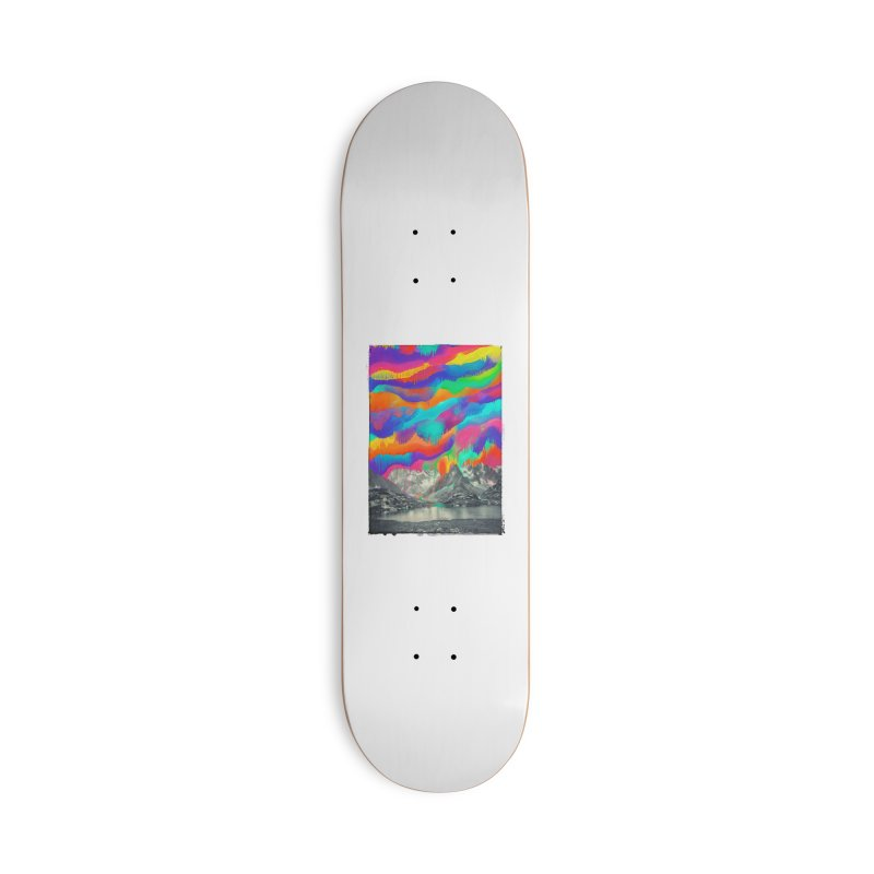 Skyfall, Melting Northern Lights Accessories Skateboard by 38 Sunsets