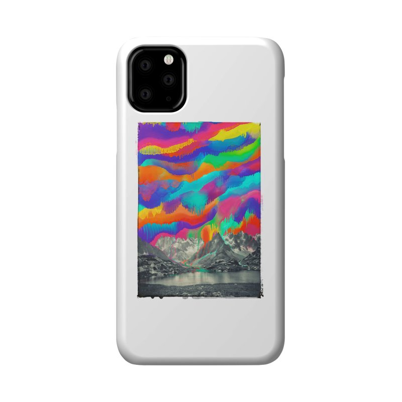 Skyfall, Melting Northern Lights Accessories Phone Case by 38 Sunsets