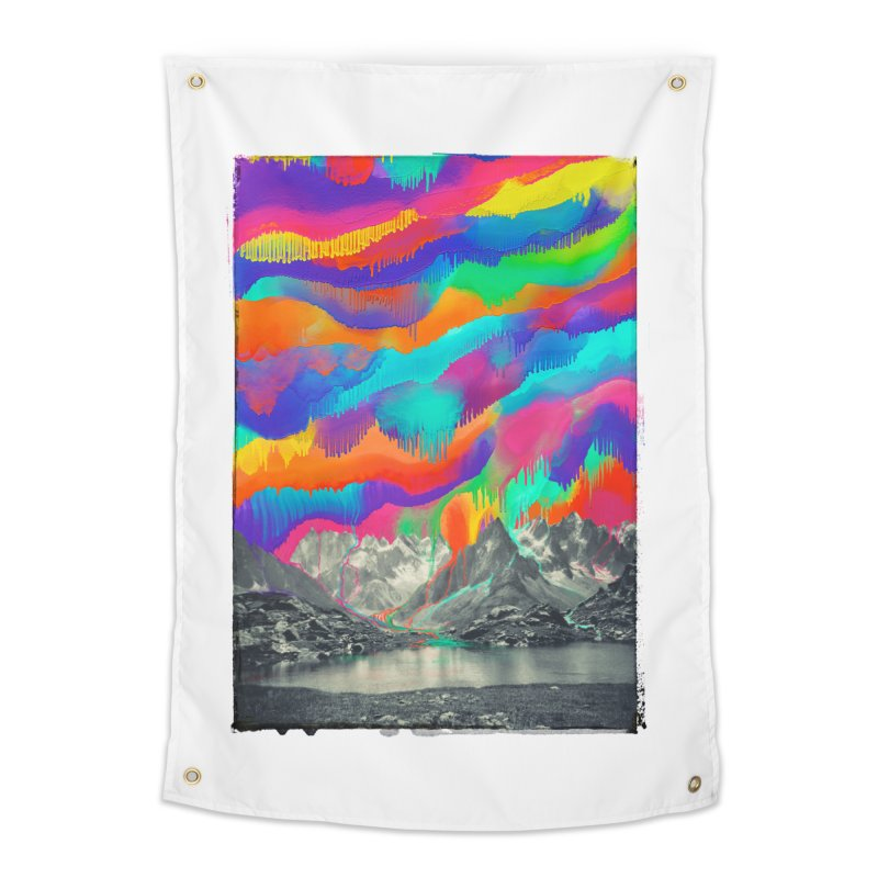 Skyfall, Melting Northern Lights Home Tapestry by 38 Sunsets