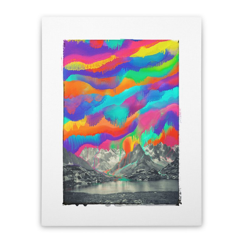 Skyfall, Melting Northern Lights Home Stretched Canvas by 38 Sunsets