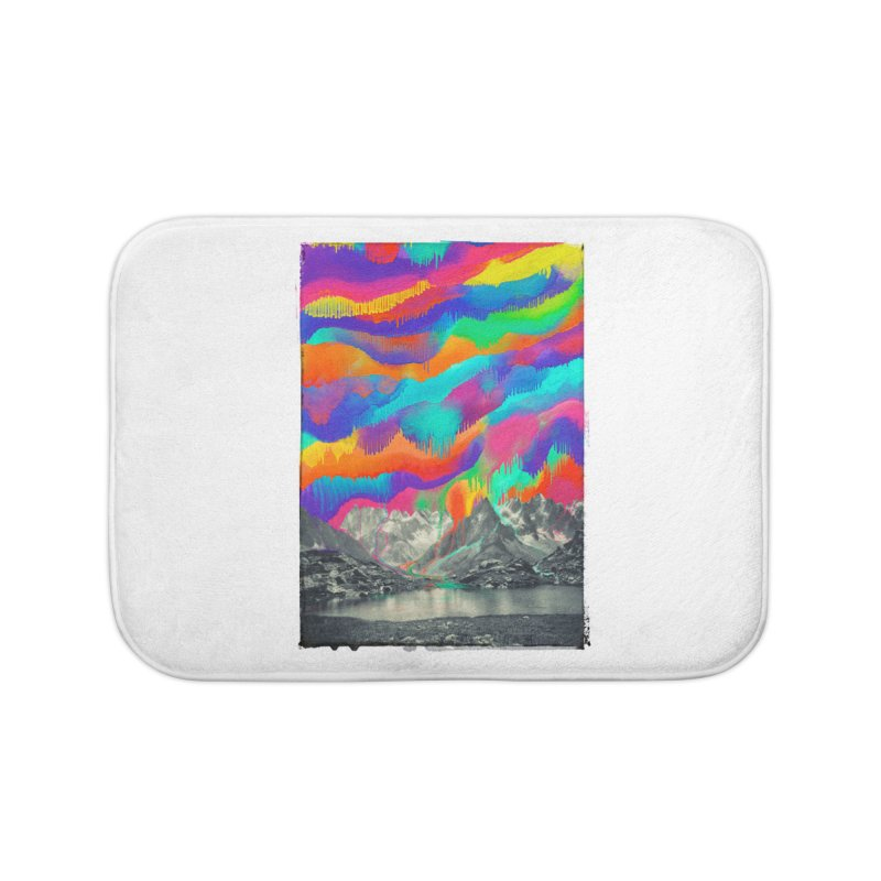 Skyfall, Melting Northern Lights Home Bath Mat by 38 Sunsets