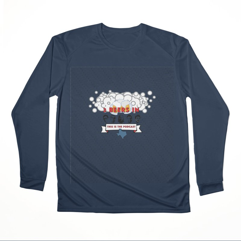 The Faces So Far Men's Performance Longsleeve T-Shirt by 3 Beers In's Artist Shop