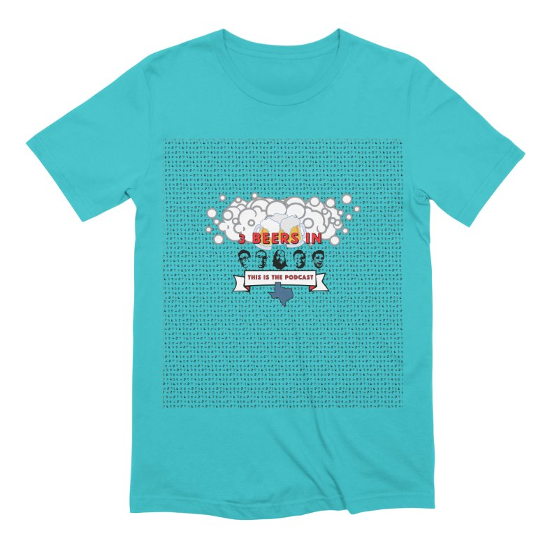 The Faces So Far Men's Extra Soft T-Shirt by 3 Beers In's Artist Shop