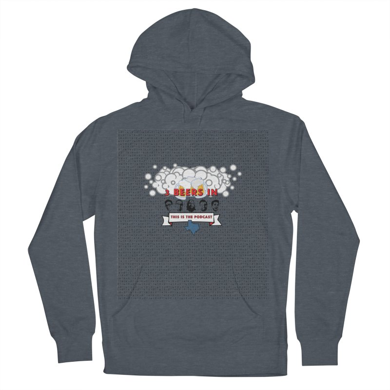 The Faces So Far Women's French Terry Pullover Hoody by 3 Beers In's Artist Shop