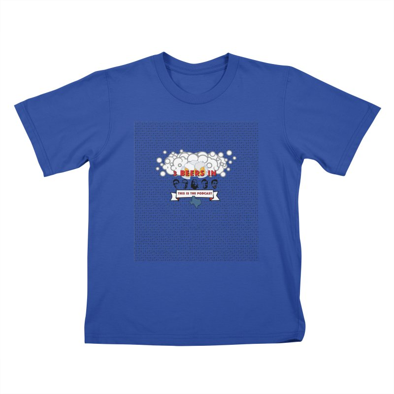 The Faces So Far Kids T-Shirt by 3 Beers In's Artist Shop