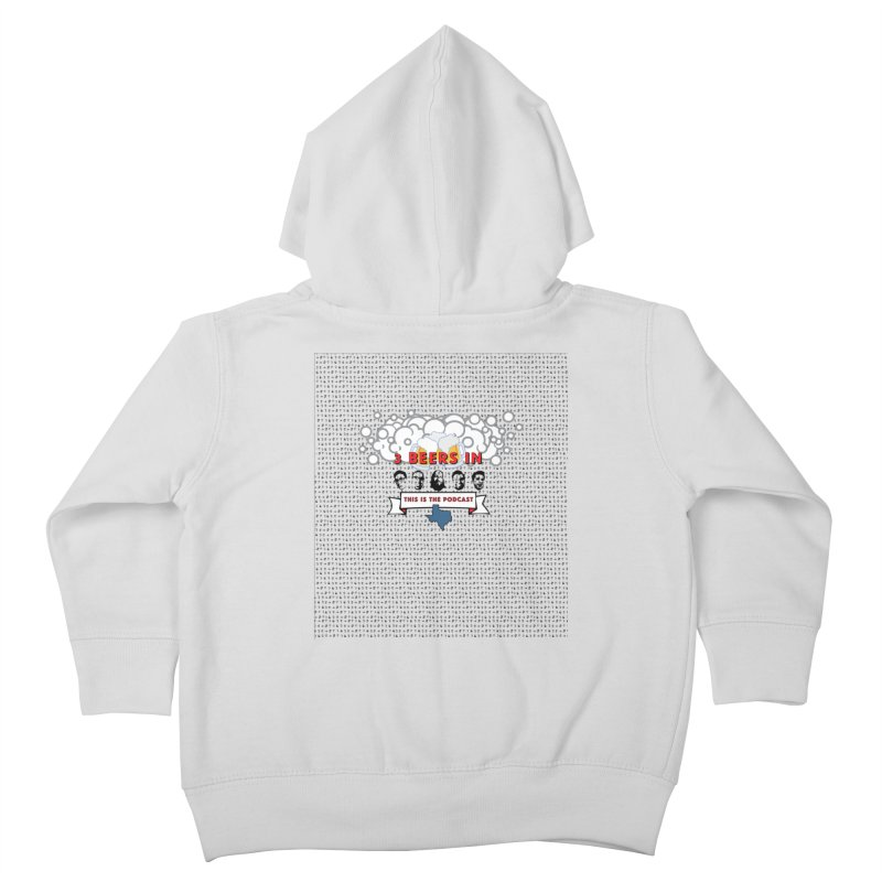 The Faces So Far Kids Toddler Zip-Up Hoody by 3 Beers In's Artist Shop