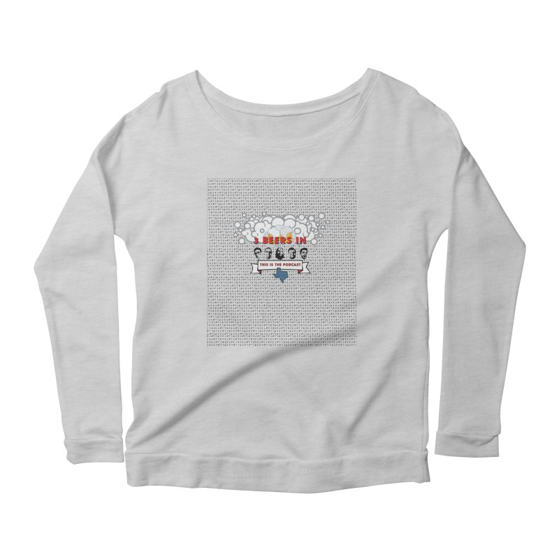 The Faces So Far Women's Scoop Neck Longsleeve T-Shirt by 3 Beers In's Artist Shop